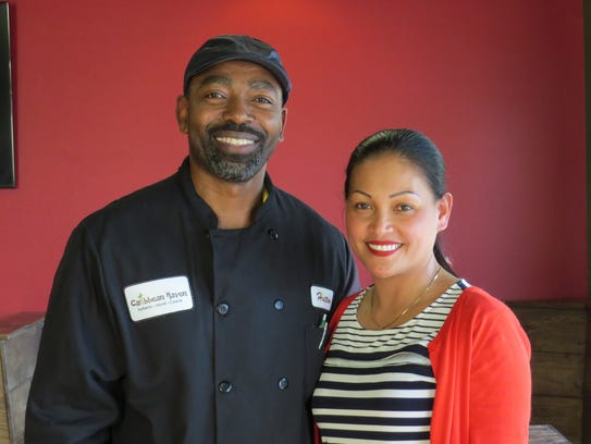 Hutton John and Richel Branum are co-owners of Caribbean