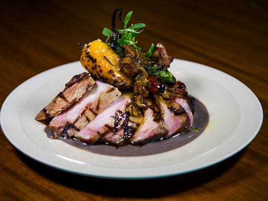 This is the bone-in kurobuta pork chop from Weft and
