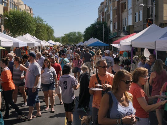 The Farmers Market at High Street happens once a month