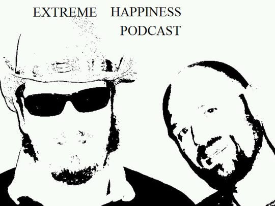 Extreme Happiness Podcast logo