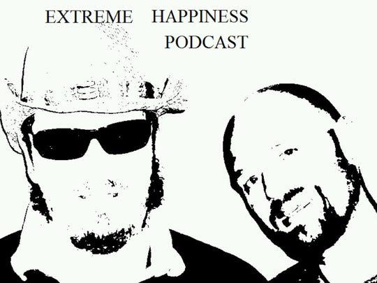 Extreme Happiness Podcast logo