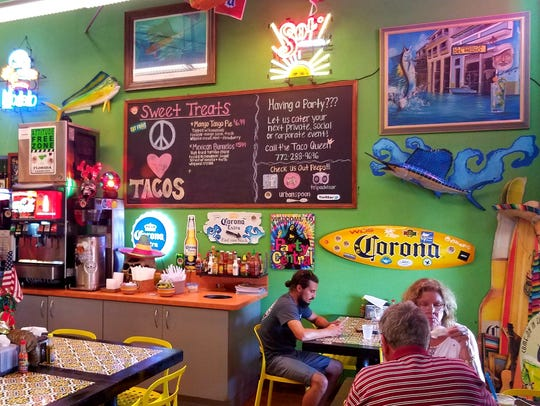 Taco Shack may be tiny, but there is no shortage of