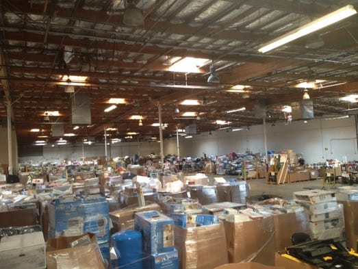 Mesa warehouse auction
