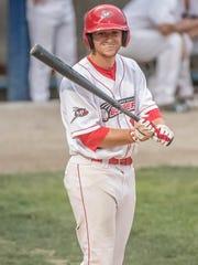 Battle Creek Bombers third baseman Ryan Dorow.