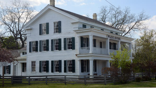 The Wade House in Greenbush, once a stagecoach stop and inn, offers hearthside dinners.