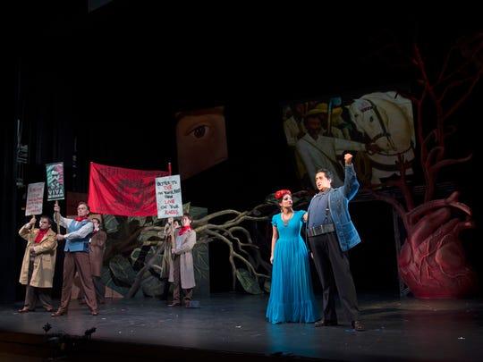 Frida' opens operatic window into life of artist Kahlo
