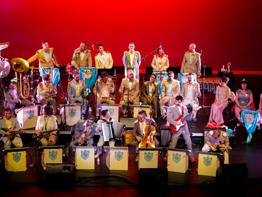 Mucca Pazza will perform Sept. 16 at the College of