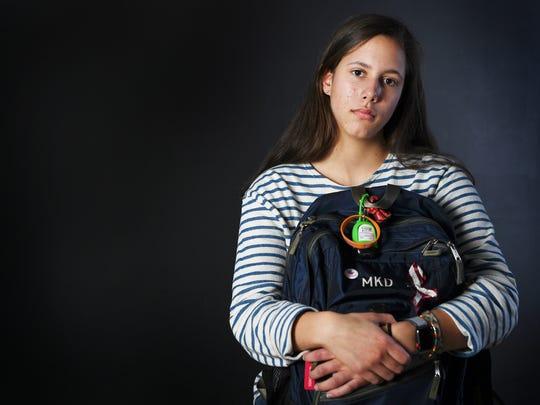 Molly Dorgan, 15, Tuscola sophomore