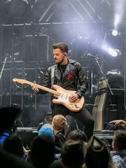Chase Bryant performs during Brad Paisley's Weekend