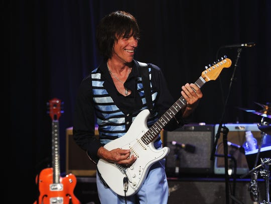 Jeff Beck will perform at the Celebrity Theatre in
