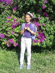 Rosa Maria Hernandez, a 10-year-old who lacks legal