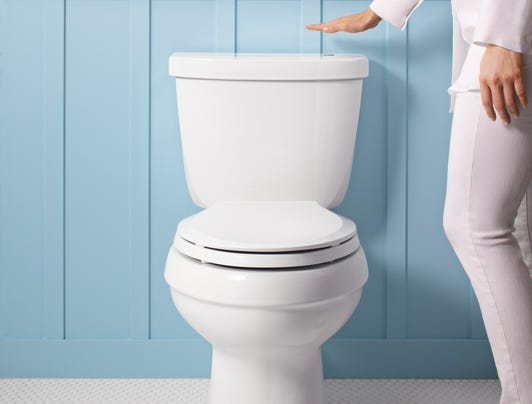 Kohler S Touchless Cimarron Toilet Lets You Experience No Touch Flushing At Home Photo Kohler