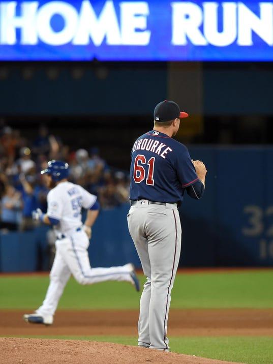 MLB: Minnesota Twins at Toronto Blue Jays