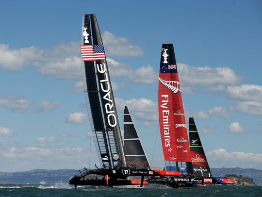 Oracle pulls off stunning comeback in America's Cup