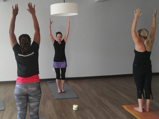 Harken Health members get free yoga sessions at the