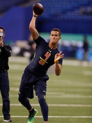 Miami quarterback Brad Kaaya, who has met with Giants