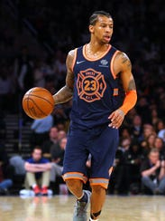 Trey Burke and the Knicks will play the Golden State