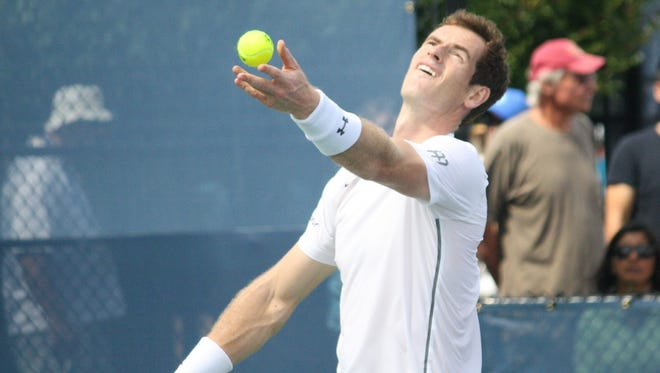 World No. 2 Andy Murray has had an eventful year on and off the court. He's aiming for a third W&S Open title this week in Mason.