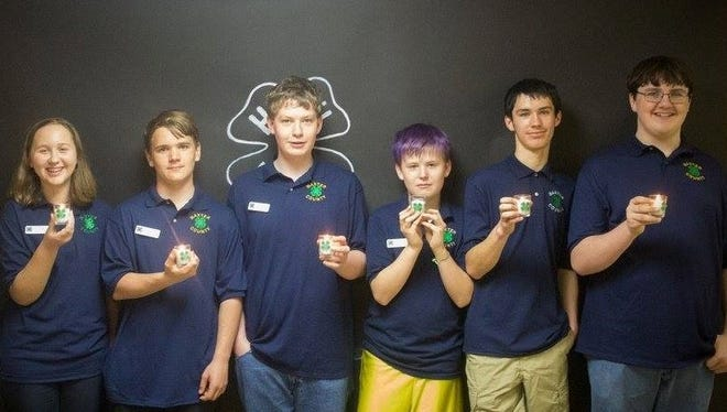 Baxter County 4-H officers are Caitlyn King, secretary, from left; Gage Shaw, reporter; Joseph May, vice president; Hunter Blum, treasurer; Chase Blum, president; and Bentley Branscum, photographer.   Billie Collins CES 4-H Agent 3 E. 9th Street Mountain Home, AR 72635 870-425-2335/Fax 870-425-2341