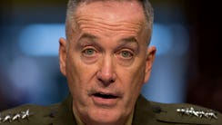 In this March 12, 2014 file photo, Gen. Joseph F. Dunford,