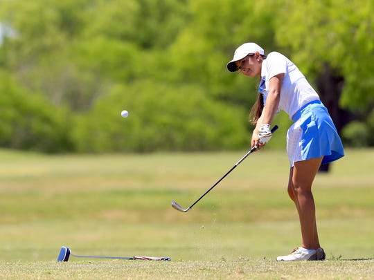 Carroll's Aleena Villareal returns this year to go for a District 30-5A golf title after winning the 28-6A title in 2016.