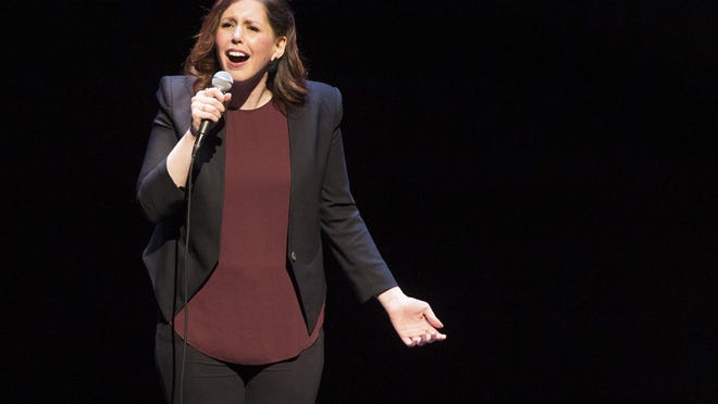 """In this April 30, 2016 file photo, actress Vanessa Bayer performs at a David Lynch Foundation Benefit for Veterans with PTSD at New York City Center in New York. """"Saturday Night Live"""" is losing cast member Bayer following this weekend's season finale."""