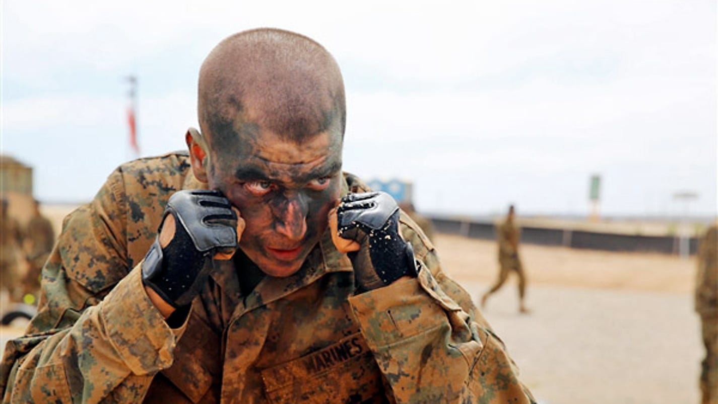 Marines 10 point plan to cut 83 pounds for boot camp nvjuhfo Gallery