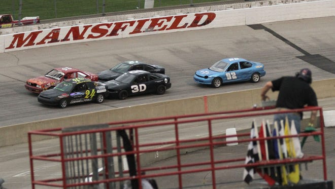 The first race of the season at Spitizer Motor Speedway started off on Friday night.