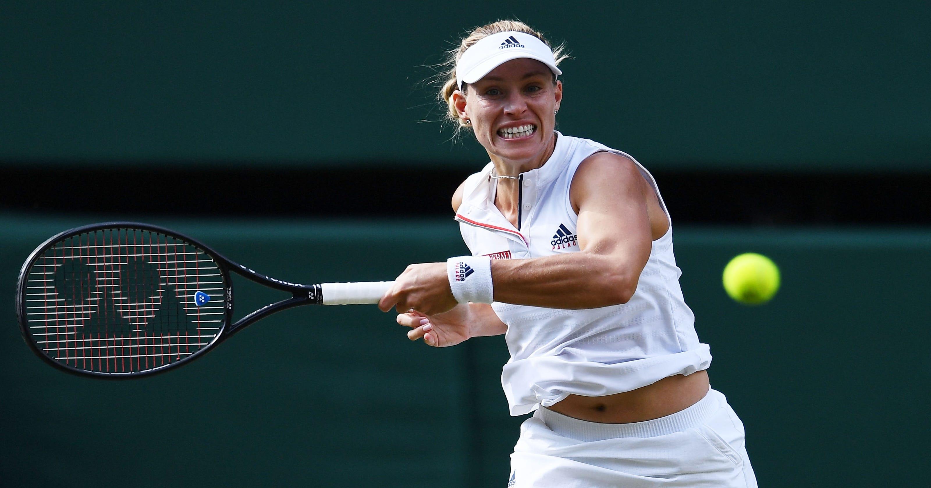 Wimbledon  Angelique Kerber beats Serena Williams in women s final b96281740fe3f