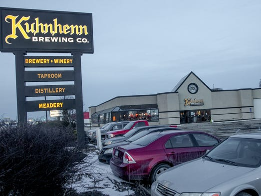 Bret Kuhnhenn is excited about Kuhnhenn Brewing Co.'s