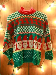 A ugly Christmas sweater