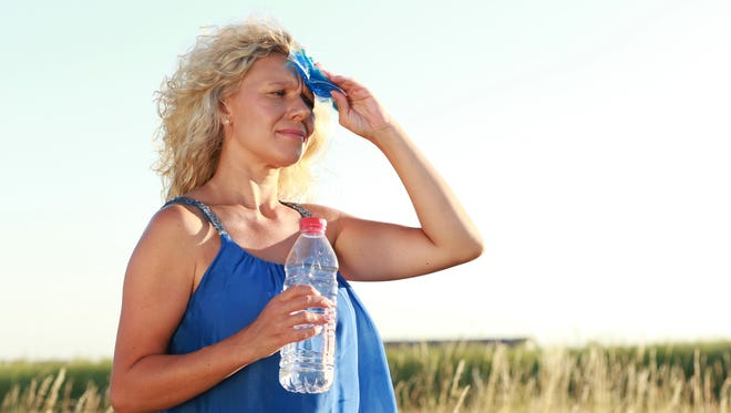 Recognizing the signs of heatstroke