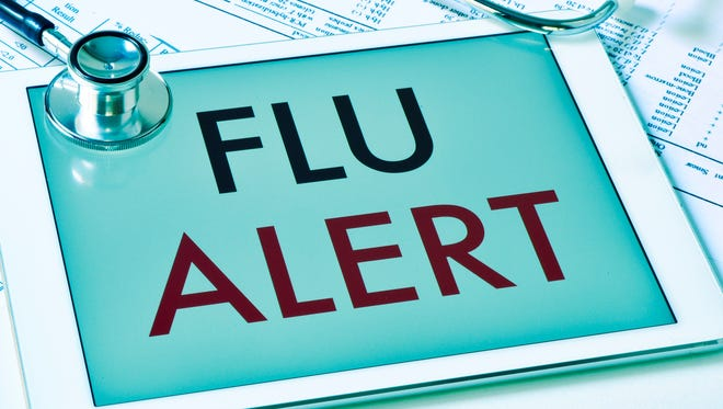 Flu season can peak anywhere from late December to early April.