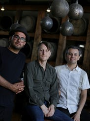 TV Lounge music director Joshua Guerin (from left),