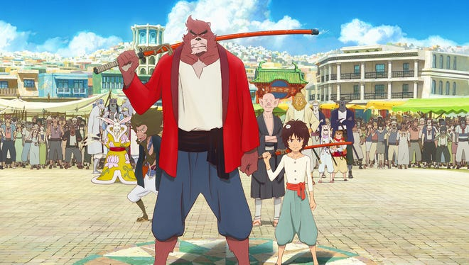 In Mamoru Hosoda's latest anime adventure, a young boy finds himself in a magical world of talking animals and becomes apprentice to a warrior beast.
