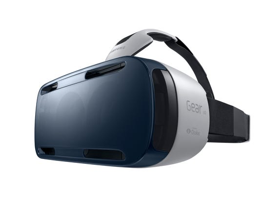 Samsung Gear VR with Oculus.