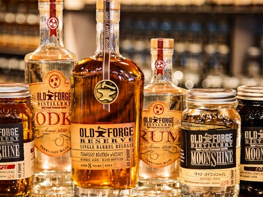 Old Forge Distillery is open 10 a.m.-9 p.m. Mondays through Saturdays and noon-6 p.m. Sundays.