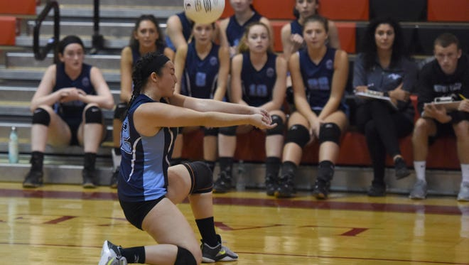 Defensive specialist Emily Gonzalez and her Wayne Valley teammates are hoping to dig up another Passaic County girls volleyball title.