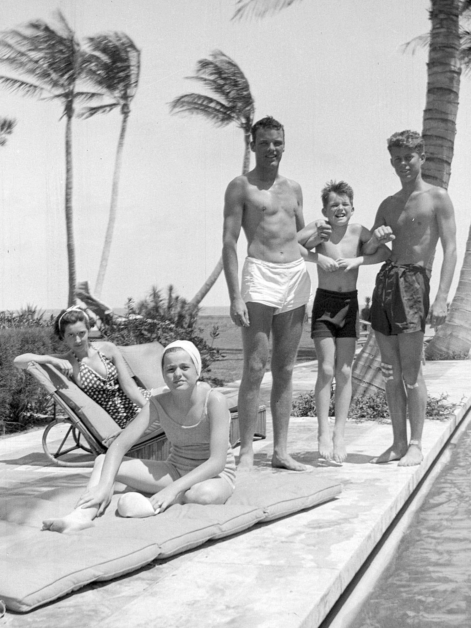 John F Kennedy Teddy Kennedy Family Photos Go Inside Famous Family