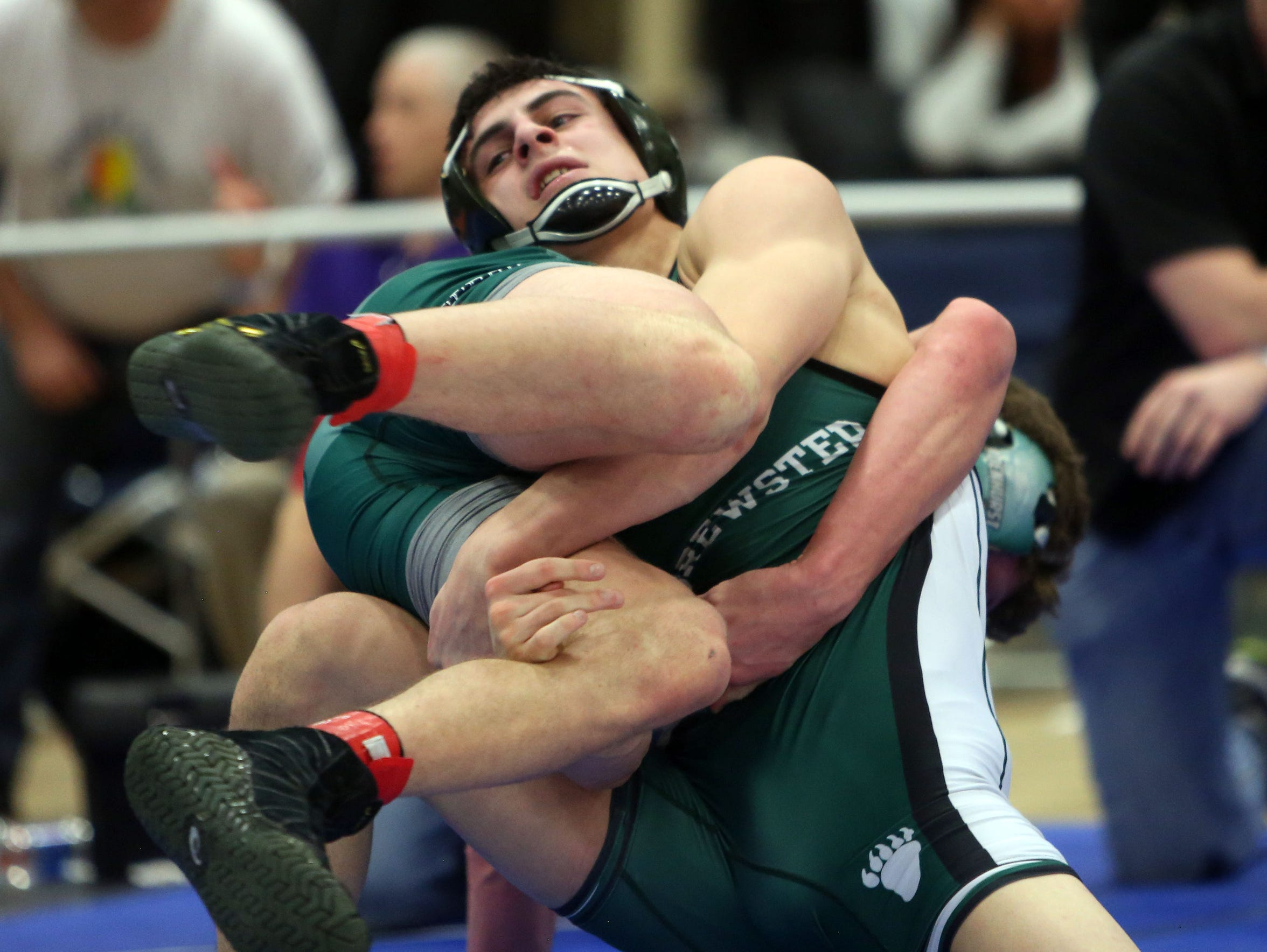 Brewster's Grant Cuomo on his way to defeating Lindenhurst's