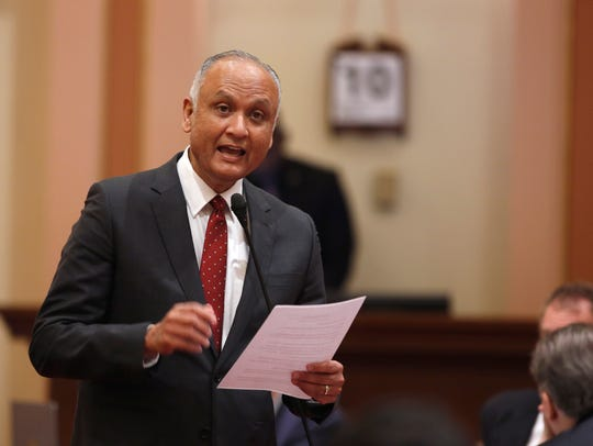 In this March 10, 2016 file photo, State Sen. Ed Hernandez,