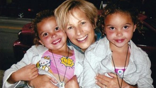 Patrice Joy Zinda Mahon loved her grand nieces, Angelica (left) and Veronica.