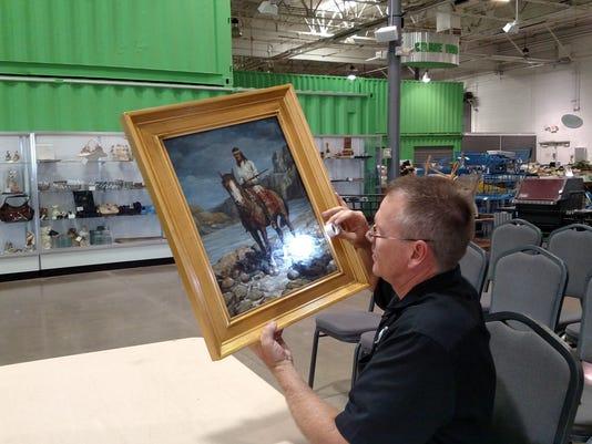 Examining Painting