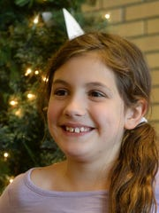 Loy Elementary second grader Isabella DiLorenzo, age