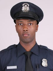 Detroit police Officer Darren Long