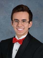 Ray Wynne is St. Benedict High School's 2017 valedictorian.
