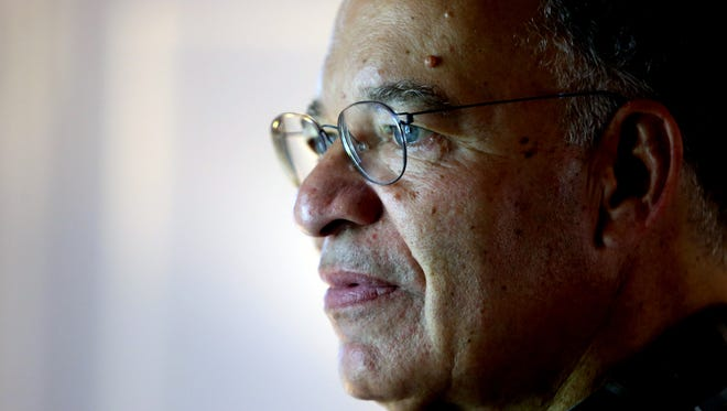 """Hugh Price of New Rochelle who has written """"This African American Life"""", photographed in his home June 20, 2017. The book traces his African American lineage and reflects on his life in media and politics."""