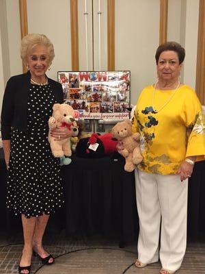 WOW co-chairs Evie Kreisler and Beverly Sheldon