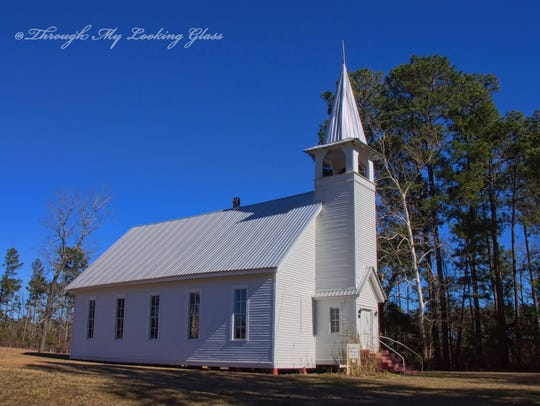Alabama Methodist Church near Bernice.