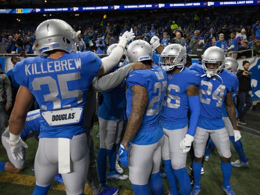 sale retailer d3f6d 8c3f3 Detroit Lions wearing classic throwbacks on Thanksgiving